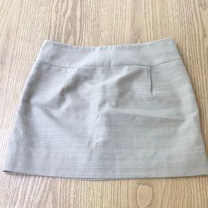 J. Crew Tan Mini Skirt Size 6